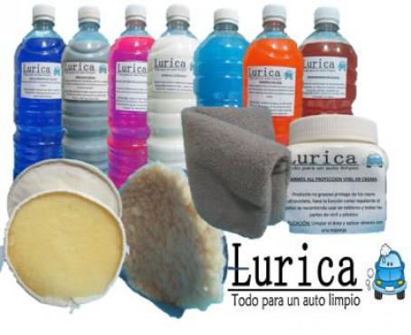 Lavado de autos, Venta de productos de limpieza autos