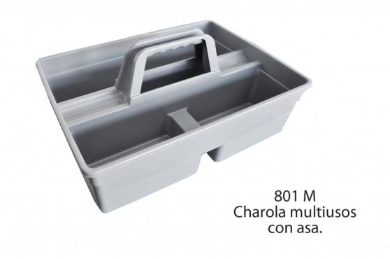 CHAROLA MULTISUSOS CON ASA, SABLÓN