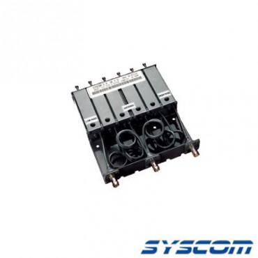 Duplexer VHF de 6 Cavidades para 136-148 MHz