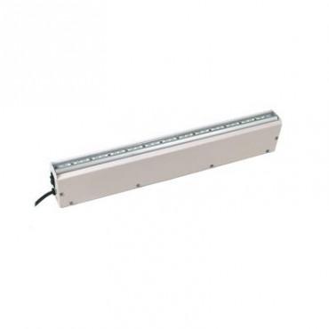 Lámpara LED de Emergencia con Respaldo de 4 Horas con Función Dual Gabinete Metálico