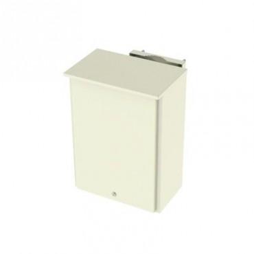 Gabinete de Lámina Galvanizada para 2 Baterías PL110D12 para Montaje en Poste