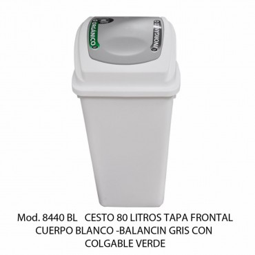 BOTE DE BASURA BALANCIN 80 LTS