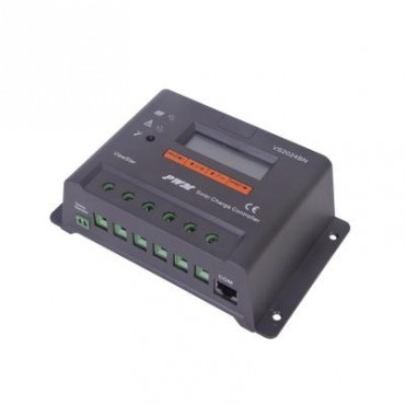 Controlador Solar de Carga y descarga 20A 12/24V con Display