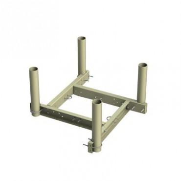 Montaje para 4 antenas en punta de torre de 30 cm de ancho