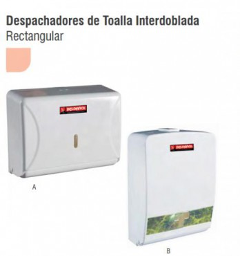 DESPACHADORES DE TOALLA INTERDOBLADA B, PELDAÑOS