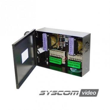 Fuente de poder para CCTV de 16 salidas a 24 Vca 8 Amp (Bajo pedido)
