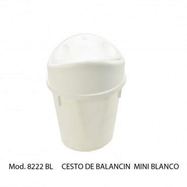 CESTO BALANCIN MINI BLANCO, SABLON