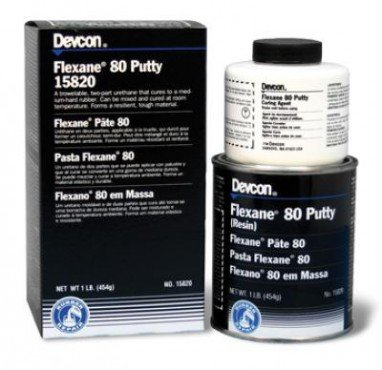 Flexane 80 Pasta, Compuesto reparador de uretano flexible, Devcon Industrial