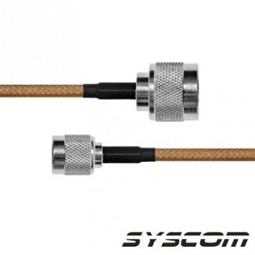 Cable RG142, con conectores N Macho/TNC Macho Inverso