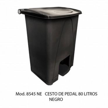 BOTE DE BASURA GRANDE CON PEDAL 80L, SABLON