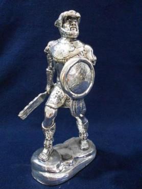 CABALLERO JAGUAR MEDIANO, en Artesanías de plata