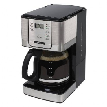 Cafetera Oster 12 T Programable Jarra Vidrio