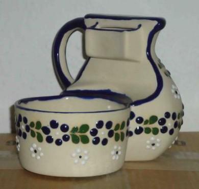 Jarra de cerámica alta temperatura