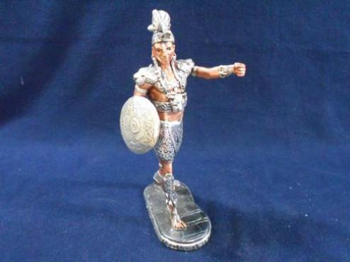 GUERRERO MAYA CHICO en  artesanías de plata