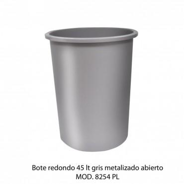 BOTE DE BASURA REDONDO 45 LTS