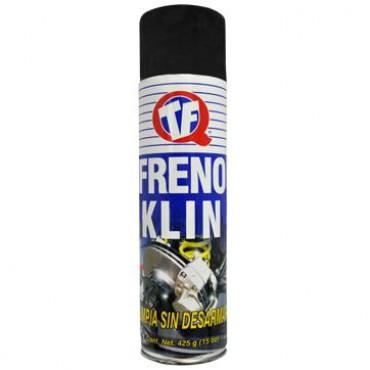 Frenoklin, limpia todo el sistema de frenos automotriz quimica TF