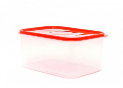 Caja Transparente Con Tapa HERMÉTICA, Jumbo No. 2 De 7 Kg, EUROPLAST