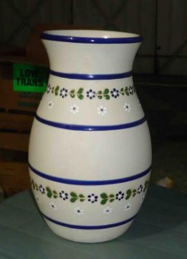 Florero Mediano de cerámica de alta temperatura
