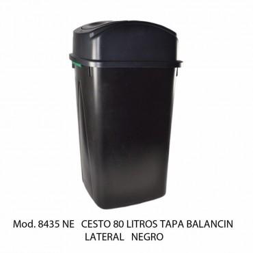 BOTE DE BASURA BALANCÍN LATERAL 80 LTS, SABLÓN