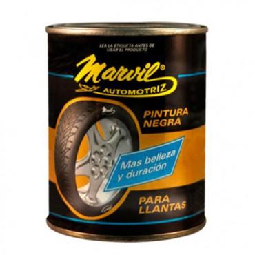 PINTURA NEGRA PARA LLANTAS /500ML