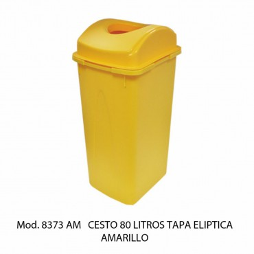 CESTO 80L TAPA ELIPTICA, SABLÓN