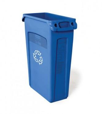 Contenedor Slim Jim con canales de ventilación reciclaje