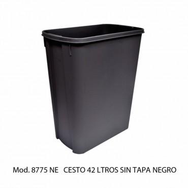 BOTE DE BASURA MEDIANO SIN TAPA, SABLÓN