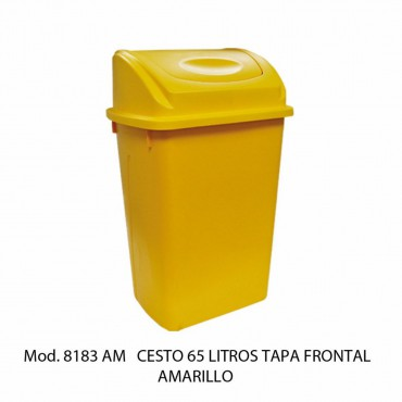 BOTE DE BASURA BALANCIN FRONTAL 65 LTS