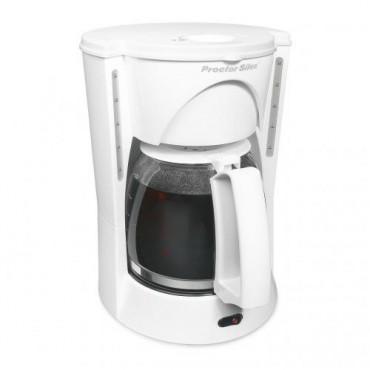 Cafetera Proctor Silex Blanca12 tazas