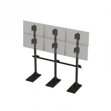 Herrajes para Videowall 2 x 3 para Monitores de 24