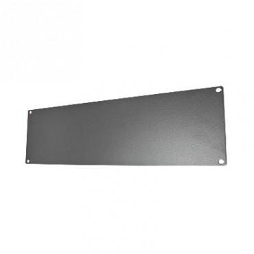 Tapa ciega para rack de 19 fabricada en aluminio 3 UR