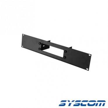 Tapa frontal de aluminio para radios TK7102/8102. Uso en rack estándar de 19