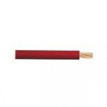 Cable de Cobre calibre 14 de color rojo
