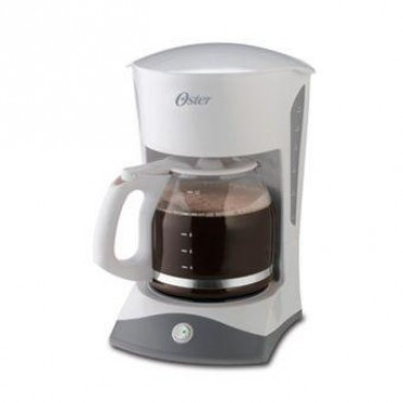 Oster, 12 Cup White Switchcoffee Maker