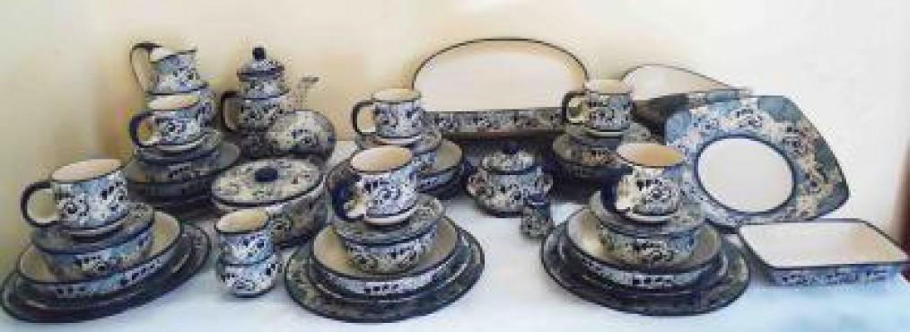 Vajilla Talavera Analia elaborada en cerámica de alta temperatura