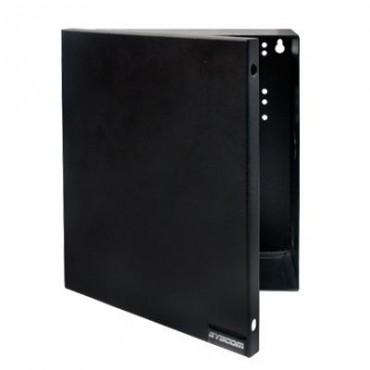 Gabinete para Fuente Línea PRO y SYSRMTXT, con preparación para instalar panel SP400 o serie runner