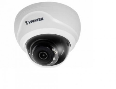 cámara de red domo fija, con un sensor de 2MP