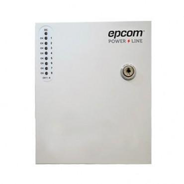 Fuente de alimentación de 24 Vca 8 Ampere, con 8 salidas