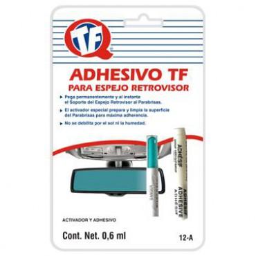 Adhesivo TF, Espejo Retrovisor, pega exclusivamente metal con vidrio