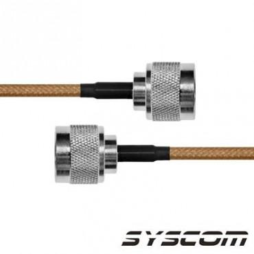 Cable RG142, con conectores N Macho / N Macho
