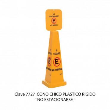 CONO CHICO : NO ESTACIONARSE
