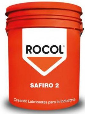 SAFIRO 2 GRASA INDUSTRIAL DE ALTO RENDIMIENTO, 17KG, ROCOL