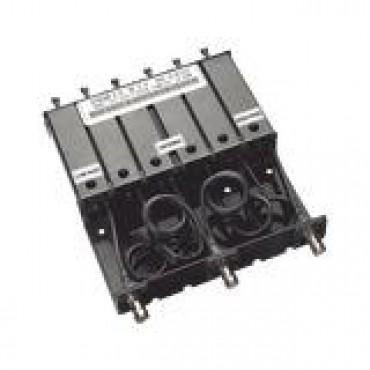 Duplexer VHF de 6 cavidades para 148-160 MHz paso de banda