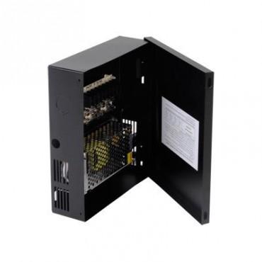 Fuente de poder para CCTV de 4 salidas a 12 Vcd. 5 A