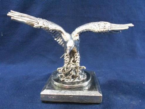 AGUILITA CON PEZ en artesanias de plata
