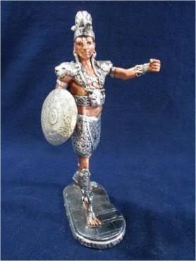 NOBLE AZTECA  en ARTESANÍAS de plata