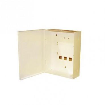 Gabinete para Alarma de la familia HUNTER PRO y Batería PL712 (No incluida)
