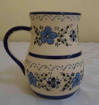 Jarro Ponchero Colores Varios elaborado en cerámica de alta temperatura