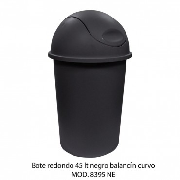 BOTE DE BASURA CON BALANCÍN REDONDO