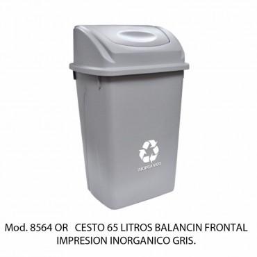 CESTO 65L BALANCIN FRONTAL C/ IMPRESIÓN, SABLÓN